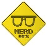 Warning Nerd 80's