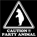 caution party animal
