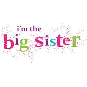 i'm the big sister scatter