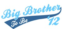 Big Brother To Be '12 light blue