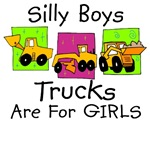 Trucks Are For GIRLS Funny T-Shirt