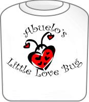 Abuelo's Love Bug T-Shirt Ladybug