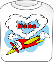 Love Nana Cute Airplane