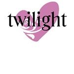 Twilight Purple Heart T-Shirt