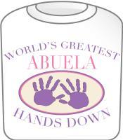 Best Abuela Hands Down T-shirt Design