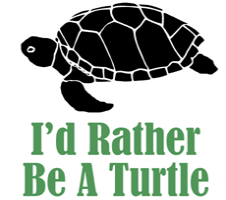 Rather Be A Turtle