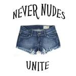 Never Nudes Unite!