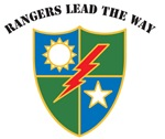 75th Ranger Regt Crest, Rangers Lead The Way