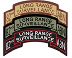 82nd ABN LRS Scrolls- All Colors