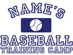 First Names Personalized Baseball Training Camp