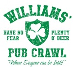 Williams' Irish Pub Crawl
