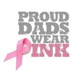 Proud Dads wear pink