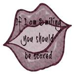 If I am smiling