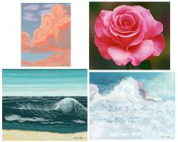 Paintings , Mousepads, Laptops, Greeting Cards & G