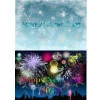 NEW! Happy New Year's Fireworks Cards & Gifts