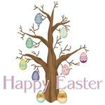 Happy Easter - Egg Tree