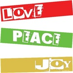 LOVE PEACE JOY