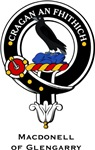 MacDonnell Glengarry Clan Crest