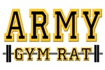 US ARMY GYM RAT T-SHIRTS