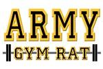 US ARMY GYM RAT T-SHIRTS