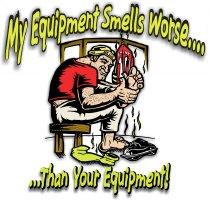 Smelly Equipment Hockey T Shirts