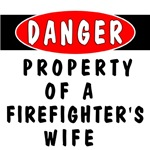 Firefighter's Wife Gifts and Apparel are great holiday gifts and birthday presents for firemen and their family members.