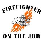 Firefighter Mack On The Job!