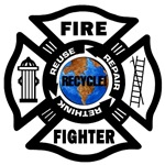 Firefighters Go Green To Save Our Planet!