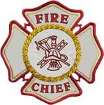 Fire Chief Maltese Logo