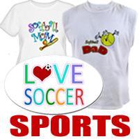 Sports t-shirts & Sports Gifts
