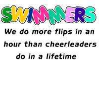 Swimmers & Cheerleaders  t-shirts & gifts