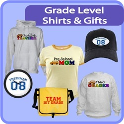 Grade Level Shirts & Gifts