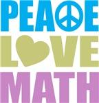 Peace Love Math