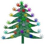 Holiday Marijuana Tree