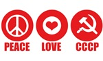 Peace Love CCCP
