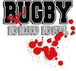Rugby No Blood No Foul T-Shirts Gifts
