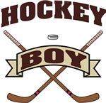 Hockey Boy T-Shirts Gifts