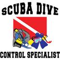 SCUBA Dive Control Specialist T-Shirt & Gifts