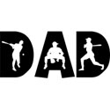 Baseball Dad T-Shirt & Gifts