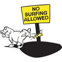 Funny Surfing T-Shirts