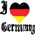 I Love Germany T-Shirts & Gifts