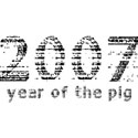 2007 Year of The Pig T-Shirts