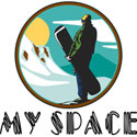 My Space Snowboarding T-Shirt