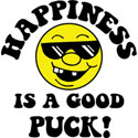 Happiness Is Hockey T-Shirt