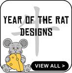 Chinese Year of The Rat T-Shirts - Kids T-Shirts