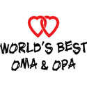 World's Best Oma and Opa T-Shirt