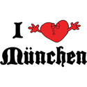 I Love Munchen T-Shirt Gifts