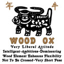 Wood Ox T-Shirt 1925 & 1985 Year of The Ox