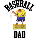 Baseball Dad T-Shirt and Gifts