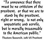 Unpatriotic President